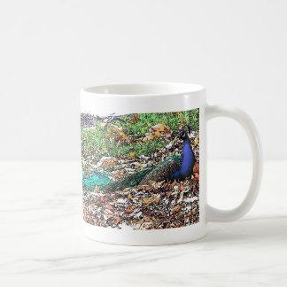 Peacock Bird Feathers Wildlife Animals Coffee Mug