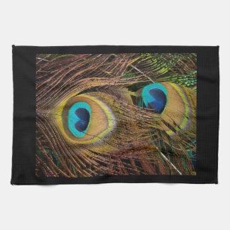 Peacock Bird Wildlife Animal Feathers Towels