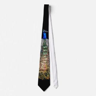 Peacock Bird Wildlife Animal Tie