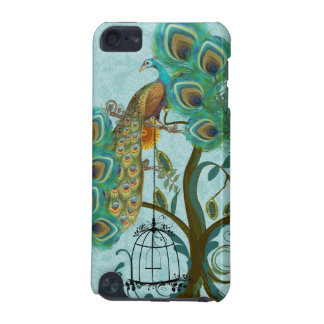 Peacock Birdcage Chandelier Damask iTouch Case iPod Touch (5th Generation) Case
