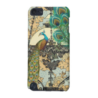 Peacock Birdcage  Damask iTouch Case iPod Touch (5th Generation) Cases