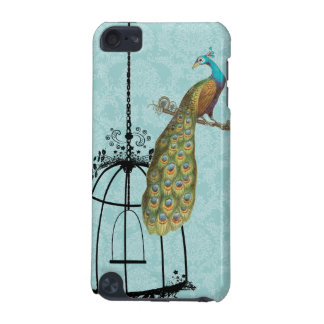 Peacock Birdcage Damask iTouch Case iPod Touch 5G Case