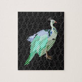 Peacock Black Puzzle