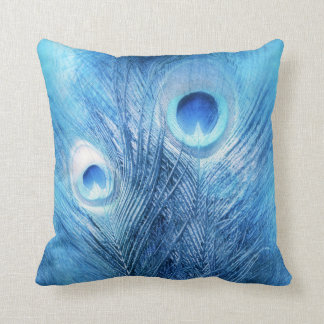 Peacock Blue Cushion