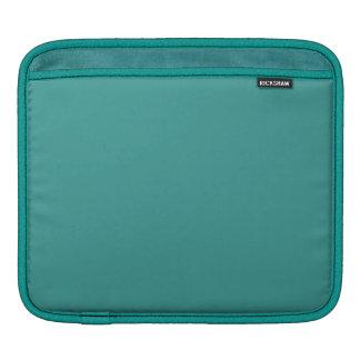 Peacock Blue iPad Sleeve