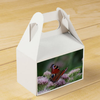 Peacock Butterfly Favour Box