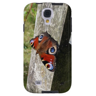 Peacock Butterfly Galaxy S4 Tough Case