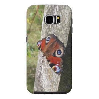 Peacock Butterfly Galaxy S6 Tough Case