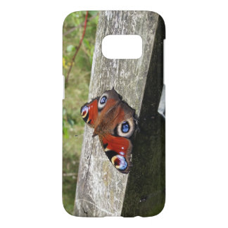 Peacock Butterfly Galaxy S7 Case
