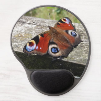 Peacock Butterfly Gel Mouse Pad