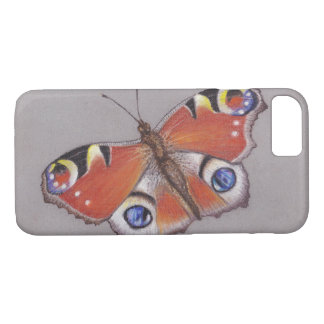 Peacock Butterfly iphone 7 cover
