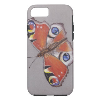 Peacock Butterfly iphone 8/7 Tough Case