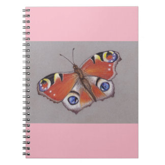 Peacock Butterfly Notebook