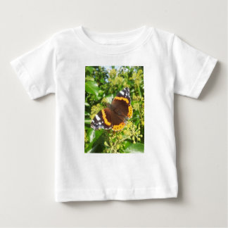 Peacock Butterfly with foliage By KABFA Designs Baby T-Shirt