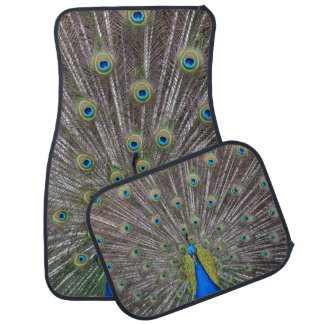 Peacock Car Mat
