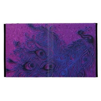 Peacock iPad Folio Cover