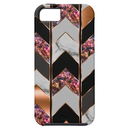 Peacock Chevron Case For The iPhone 5