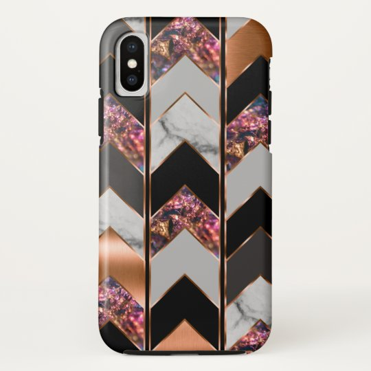 Peacock Chevron HTC Vivid Case
