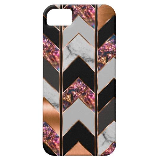 Peacock Chevron iPhone 5 Covers
