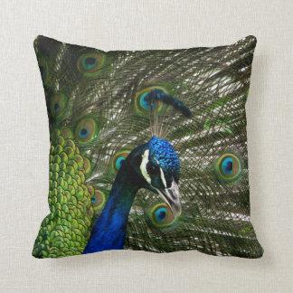 Peacock Throw Cushion