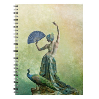 Peacock Dancer Note book