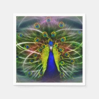 Peacock Dreamcatcher Disposable Serviette