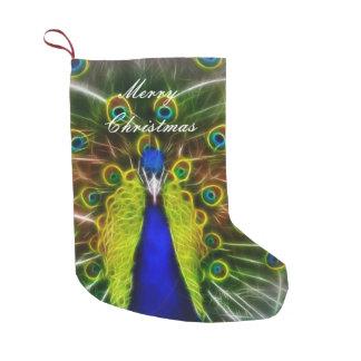 Peacock Dreamcatcher Small Christmas Stocking