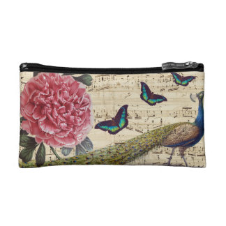 Peacock Dreams Cosmetic Bag