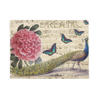 Peacock Dreams Doormat