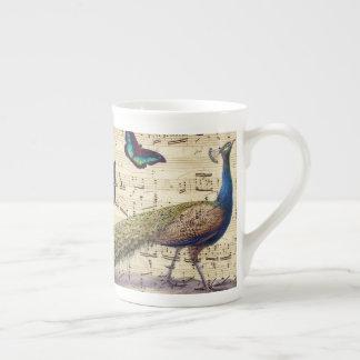 Peacock Dreams Tea Cup