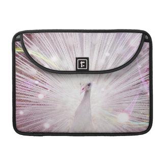 Peacock Fantasy in Pink MacBook Pro Sleeves