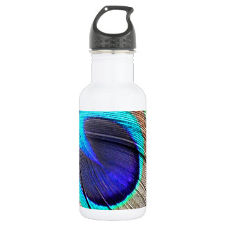 Peacock Feather 532 Ml Water Bottle
