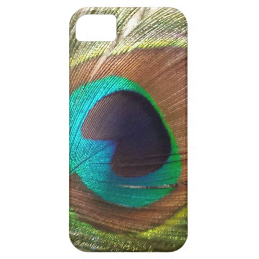 Peacock Feather iPhone 5/5S Cover