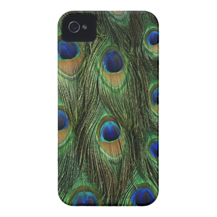 Peacock Feather Case Cover