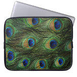Peacock Feather Case Cover Computer Sleeve