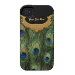 Peacock Feather - Case Mate Vibe iPhone 4 Covers