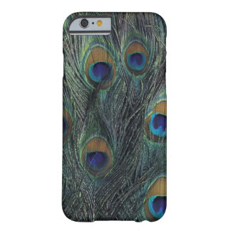 Peacock feather design barely there iPhone 6 case