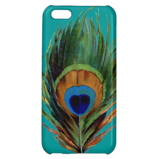 Peacock Feather iPhone 5C Cases