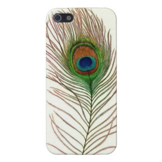 Peacock Feather iPhone Case iPhone 5 Cover
