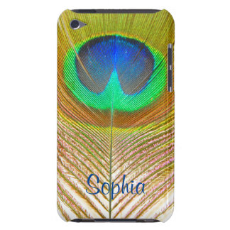 Peacock Feather iPod Touch 4g Case Barely There iPod Cover