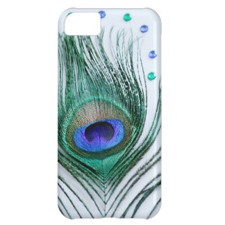 Peacock Feather Jewels iPhone 5C Case