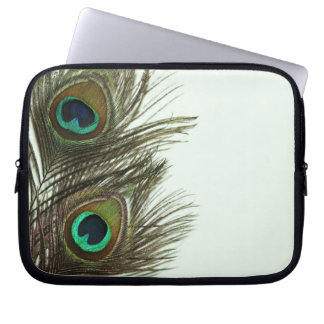Peacock Feather Laptop Bag