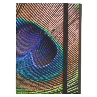 Peacock feather photo blue powis icase ipad case