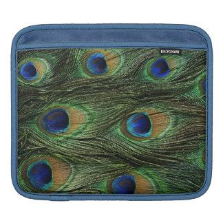 Peacock Feather Print iPad Sleeve