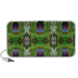 Peacock Feather Show Travelling Speaker