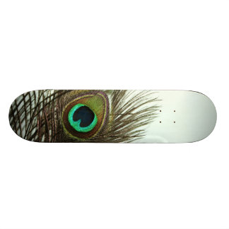 Peacock Feather Skateboard