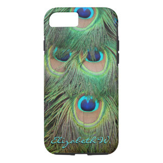 Peacock Feathers 3 iPhone 7 Case