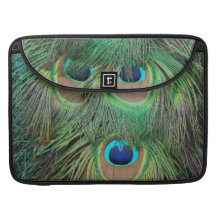 Peacock Feathers 3 Sleeve For MacBooks