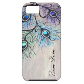 Peacock Feathers (Carpe Diem) iPhone 5 Case