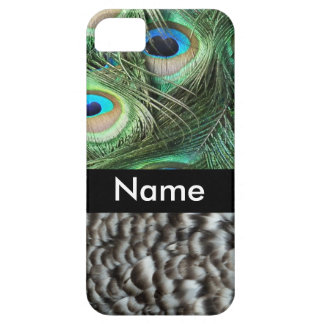 Peacock feathers cover for iPhone 5/5S